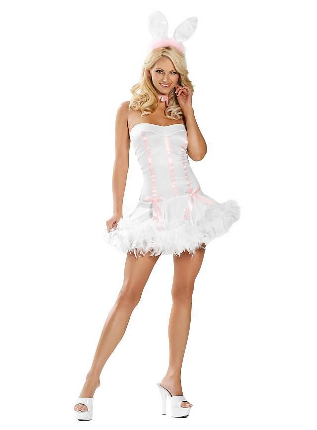 Bunny weiß Kostüm