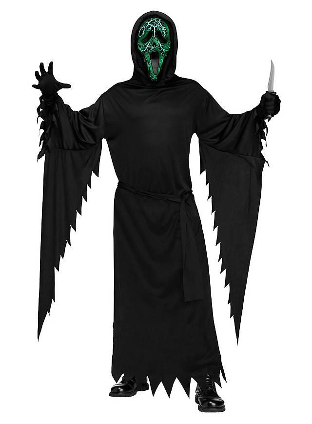 Burning Ghostface Scream Costume - maskworld com