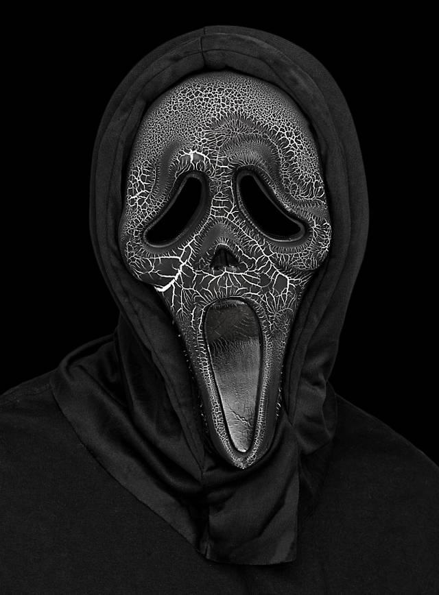 burning ghostface scream mask maskworldcom