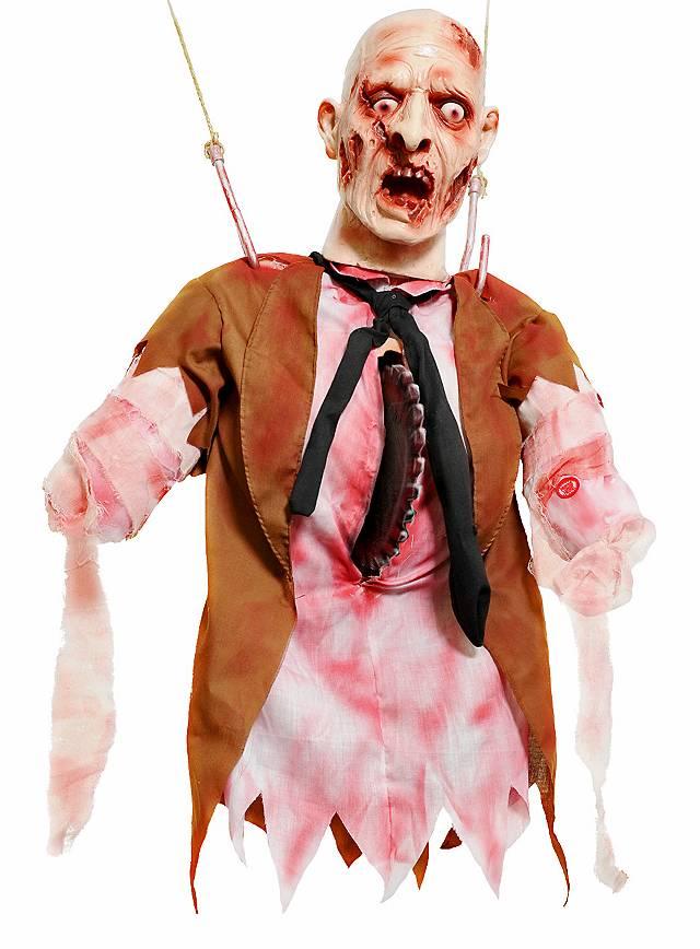 Buzz Saw Victim Animated Halloween Decoration