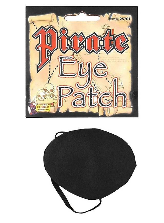 Cache-œil de pirate en satin