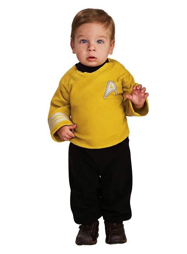 Capitaine Kirk Star Trek Déguisement Bébé