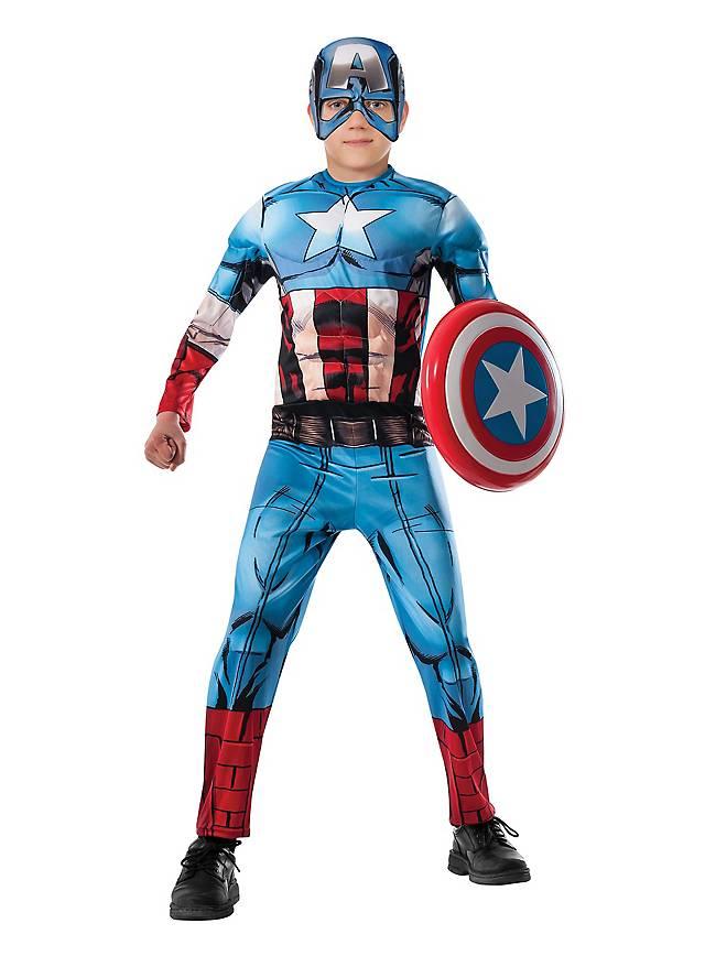 Captain America Comic Kinderkostüm