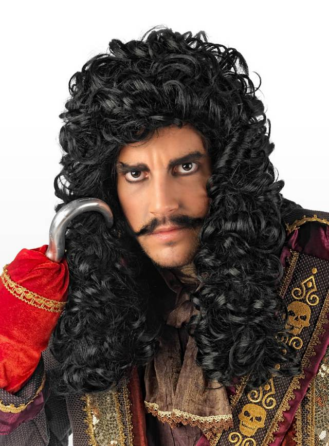 Captain Hook Perücke
