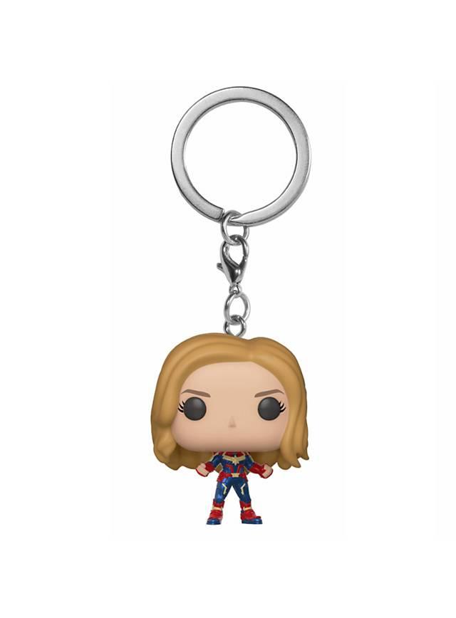 Captain Marvel - Captain Marvel Pocket POP! Bobble-Head Schlüsselanhänger