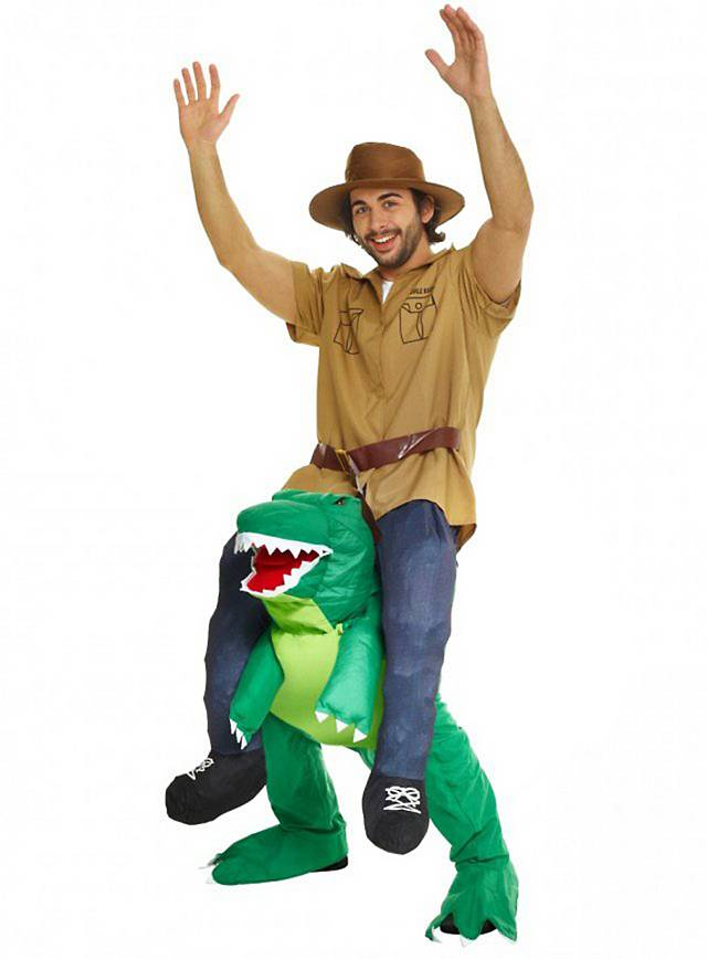 Carry Me costume T-Rex