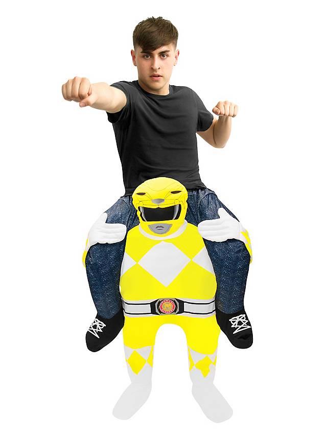 Carry Me Kostüm Gelber Power Ranger