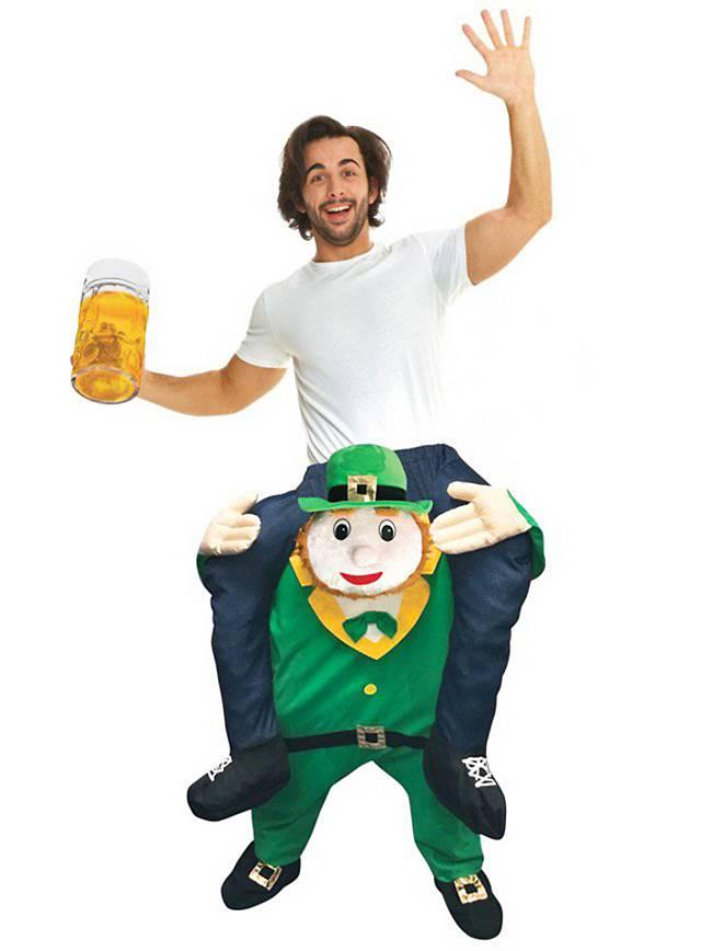 Carry Me Kostüm Leprechaun Kobold