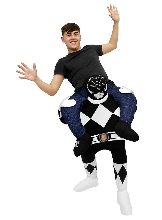 Carry Me Kostüm Schwarzer Power Ranger