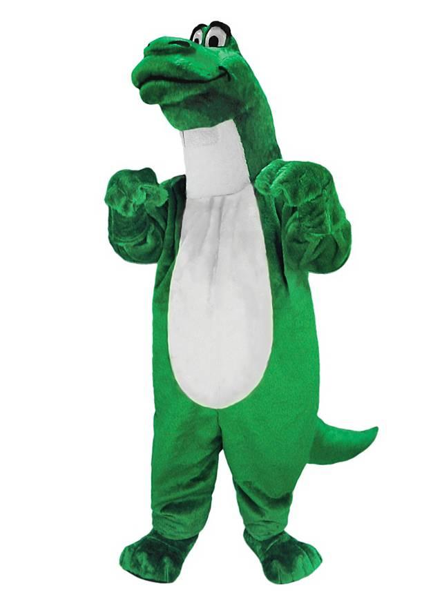 Cartoon Dinosaur Mascot