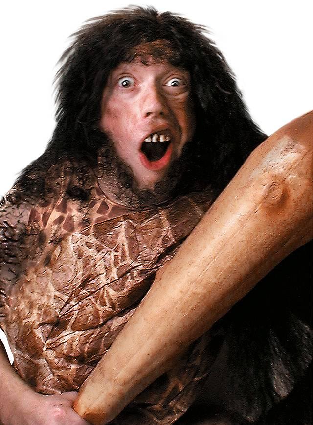 Caveman Fake Teeth