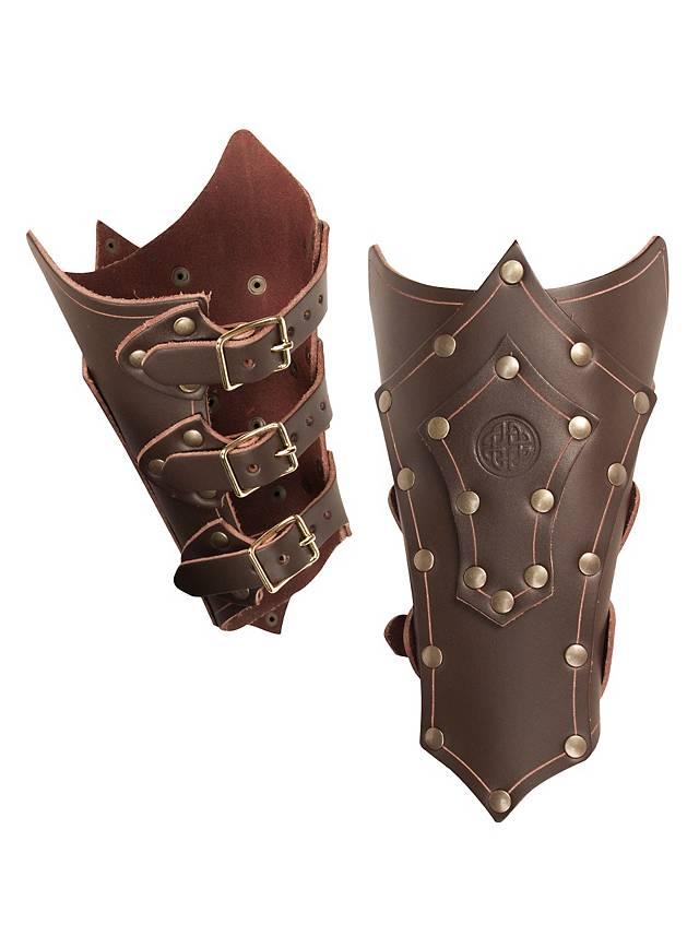 Celtic Warrior Vambraces brown
