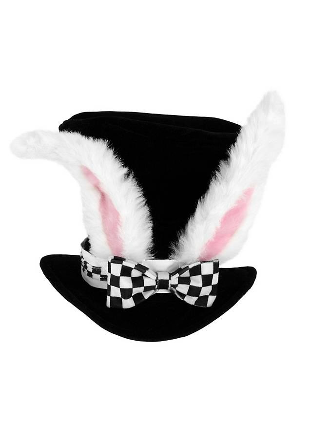 Chapeau Lapin blanc Alice au pays des merveilles
