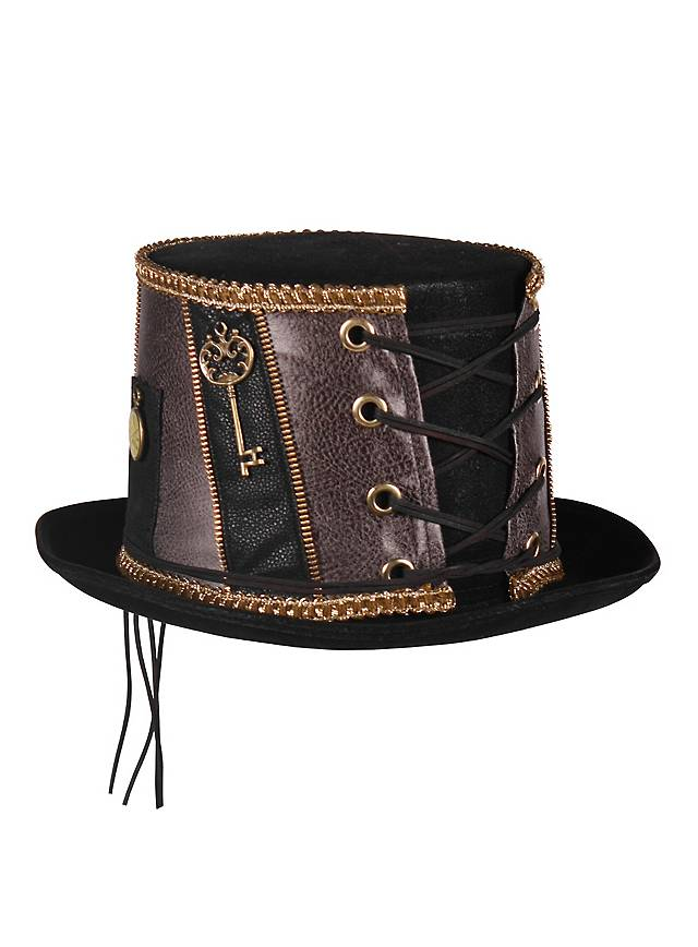 Chapeau pork pie hat steampunk noir
