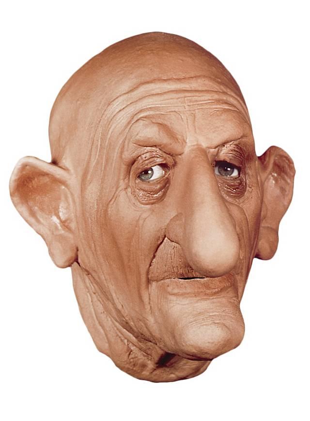 Charles de Gaulle Maske aus Schaumlatex