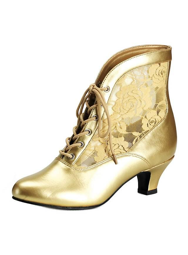 Chaussures baroques dorées