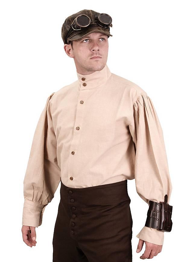 Chemise d'ingénieur steampunk