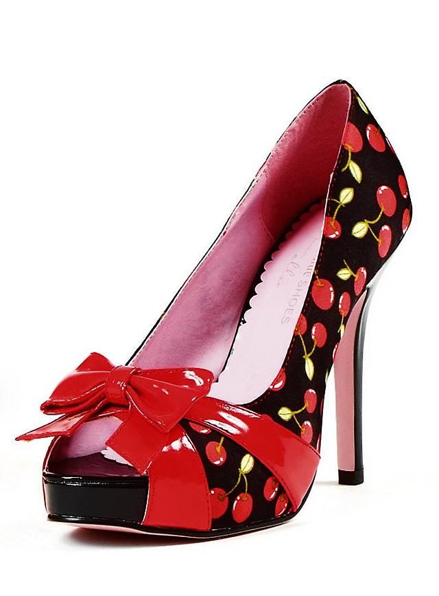 Cherry Schuhe