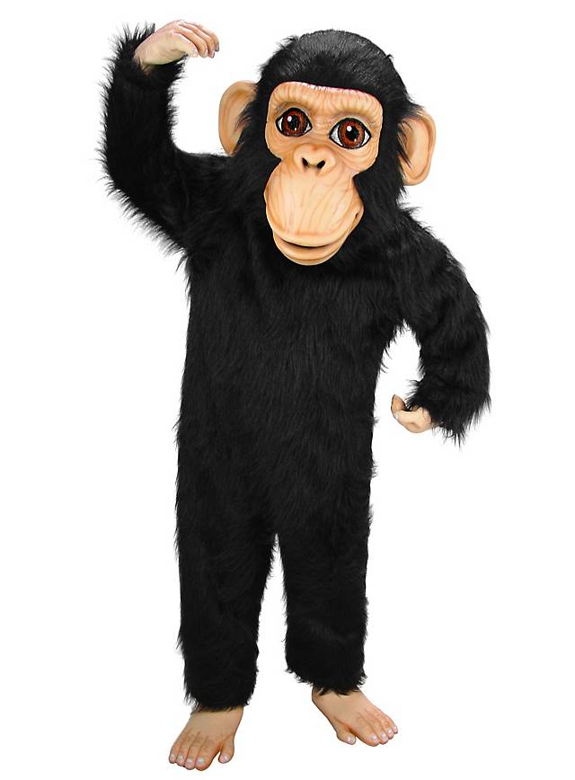 Chimpanzé Mascotte
