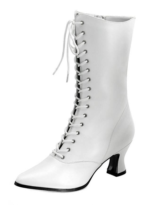 Classic Half Boots white