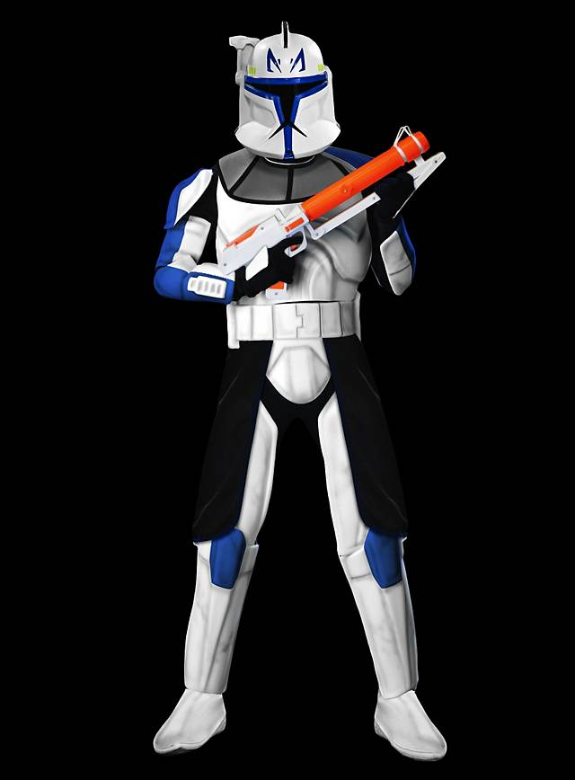 Clone Trooper  Rex  Costume & Clone Trooper