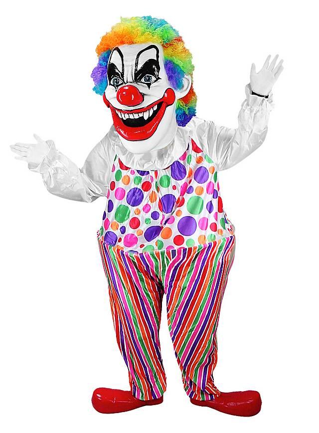 Clown furieux Mascotte