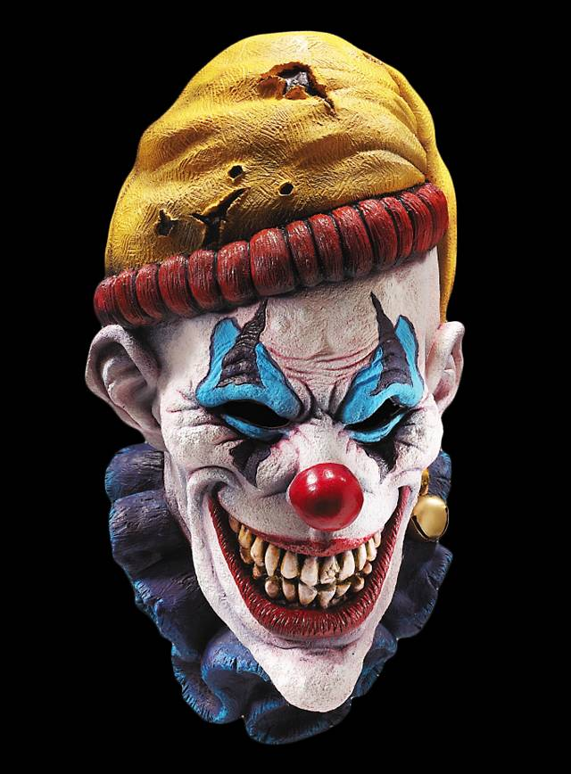 Clown Horreur Masque en latex