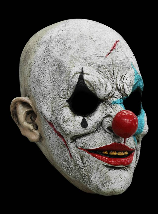 Clown Horror Mask made of latex - maskworld com