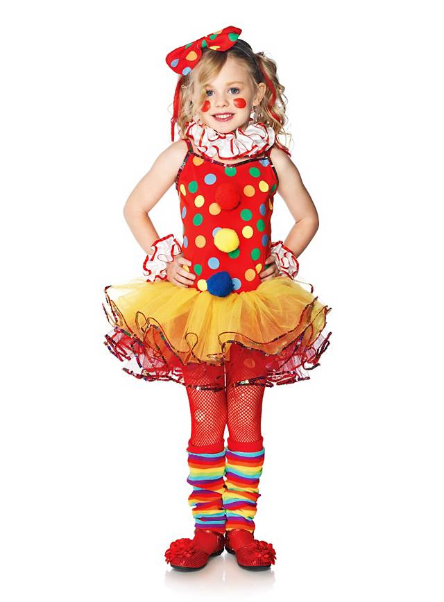 Clown Kinderkostum Fur Madchen Jetzt Entdecken Maskworld Com