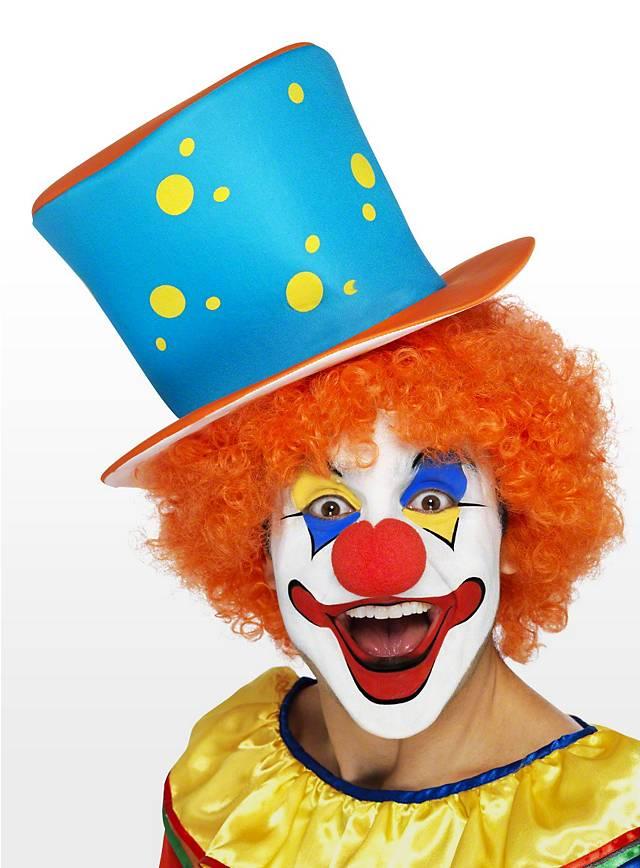 Clown Zylinder für Euer Purim Kostüm