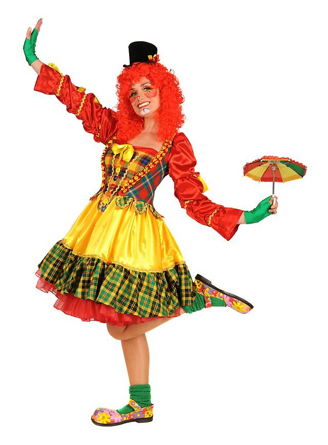 Clowness Augusta Kostüm