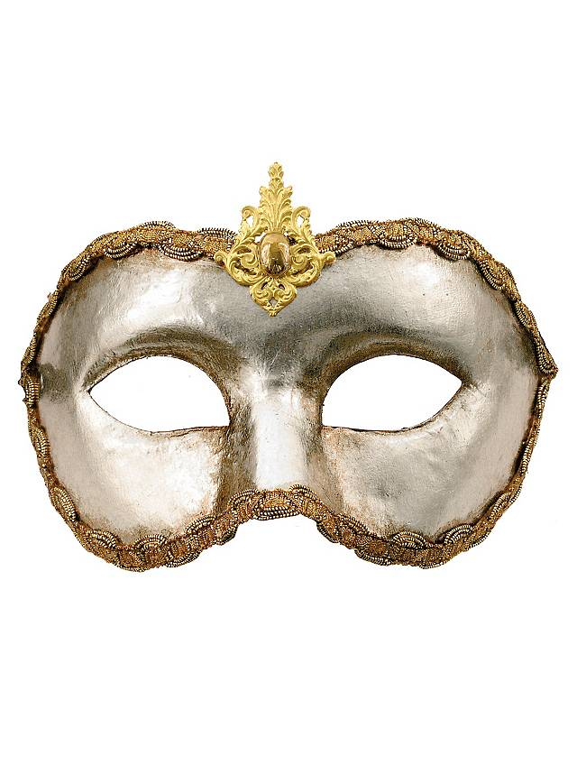 Colombina argento - Venetian Mask