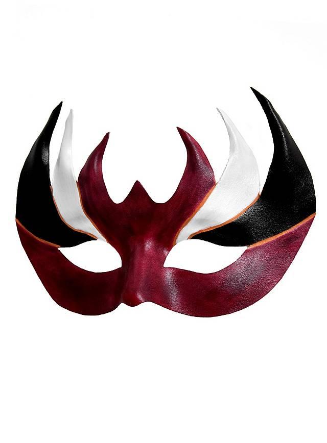 Colombina Augello Venetian Leather Mask