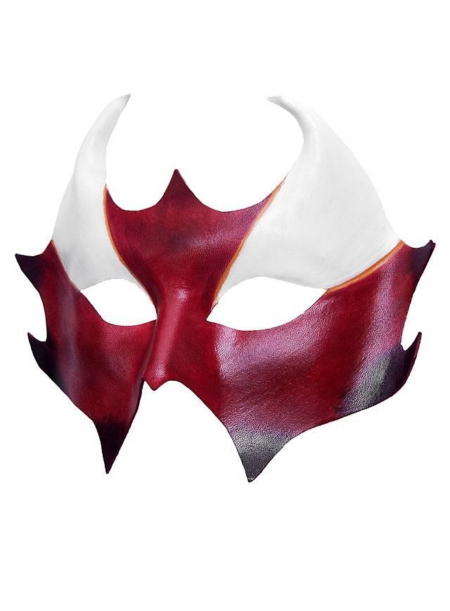 Colombina Cerbero Masque en cuir vénitien
