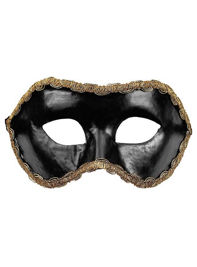 Colombina nera - Venezianische Maske