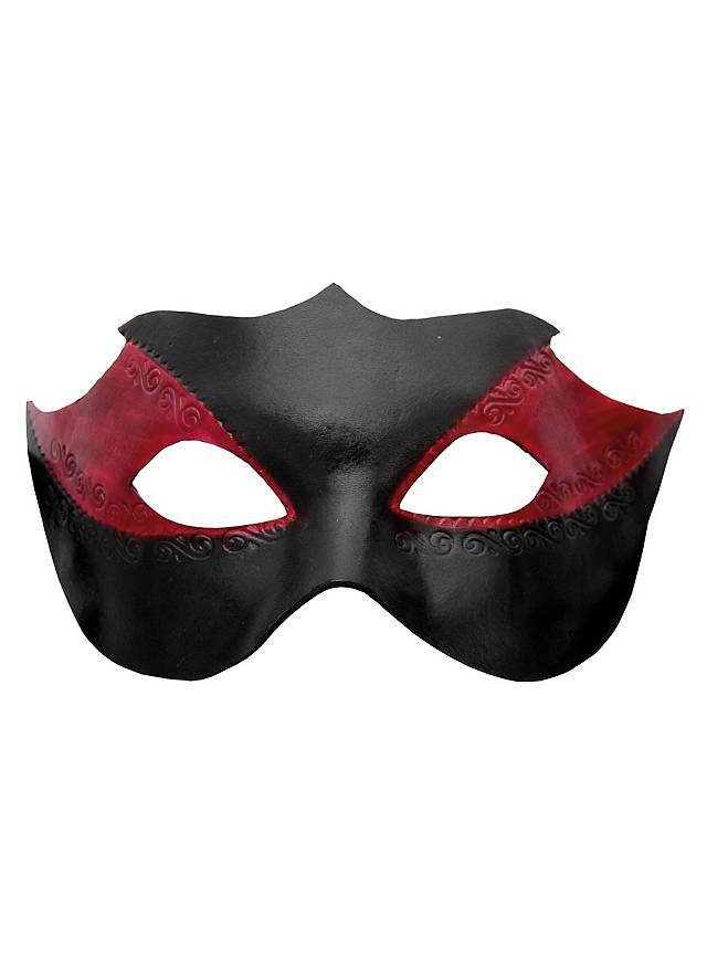 Colombina Novella Venetian Leather Mask