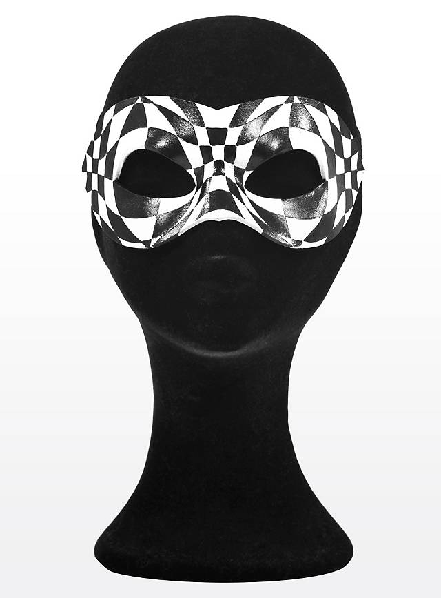 Colombine Arlequin Masque En Cuir Maskworldcom