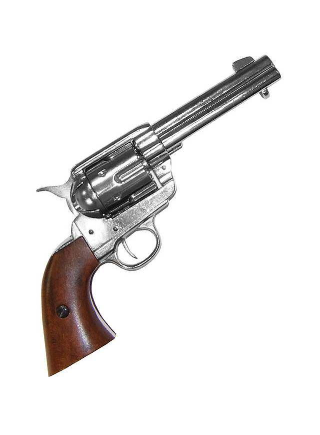 "Colt ""Peacemaker"" nickel-plated"
