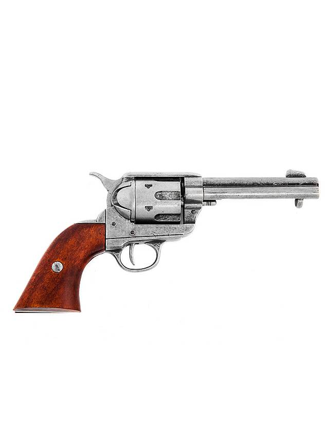 """Colt """"Peacemaker"""" nickel-plated"""