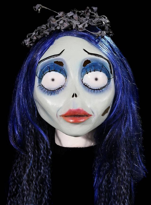 Corpse Bride Emily Maske aus Latex