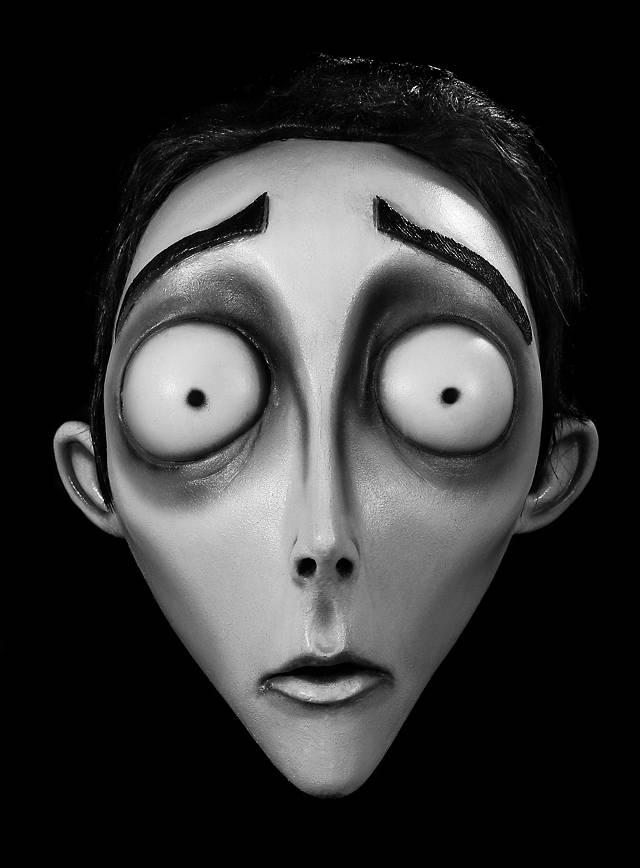 Corpse Bride Victor Maske aus Latex