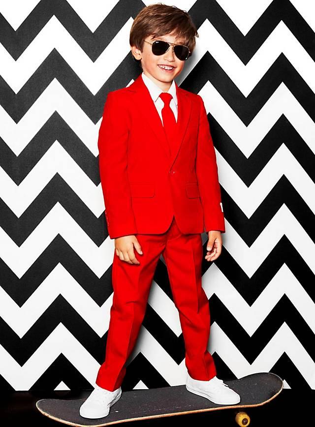 Costard OppoSuits Boys Red Devil pour enfant