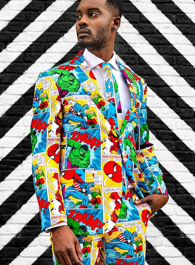 Costard OppoSuits Marvel Comic Book
