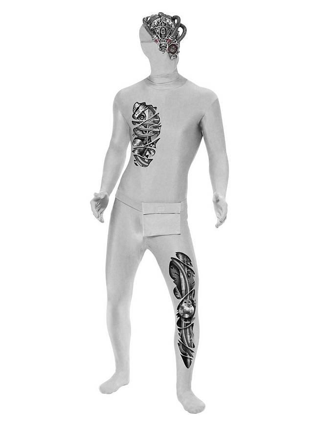 Costume intégral zentai androïde