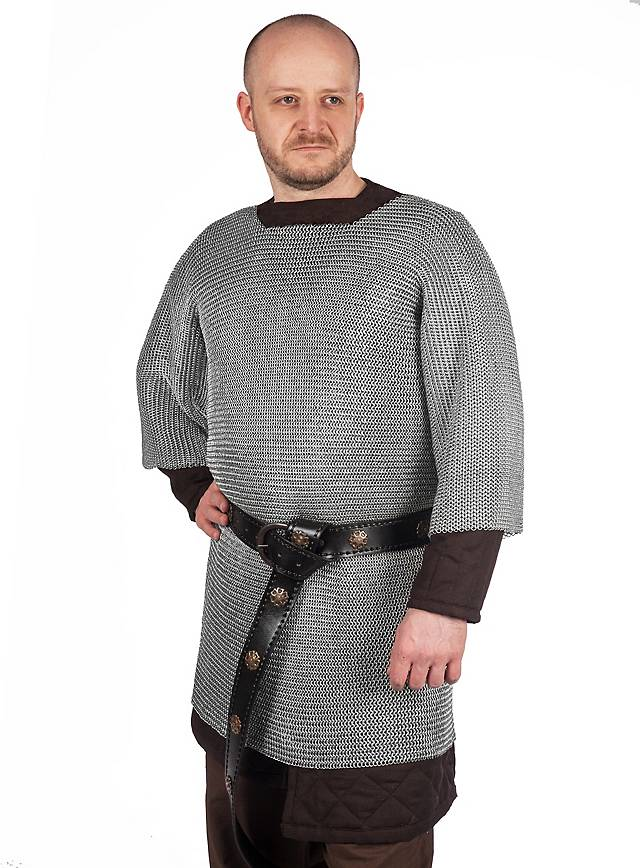 Cotte de mailles de chevalier - Cotte de maille achat ...