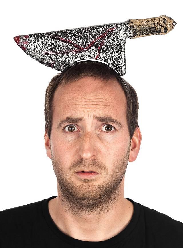 Couperet dans une tête Accessoire