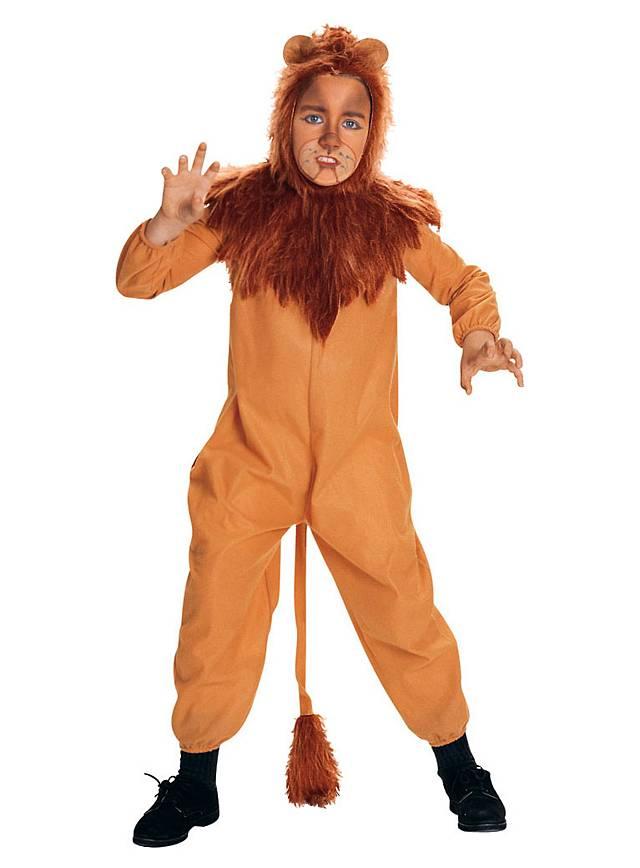 Cowardly Lion Kids Costume