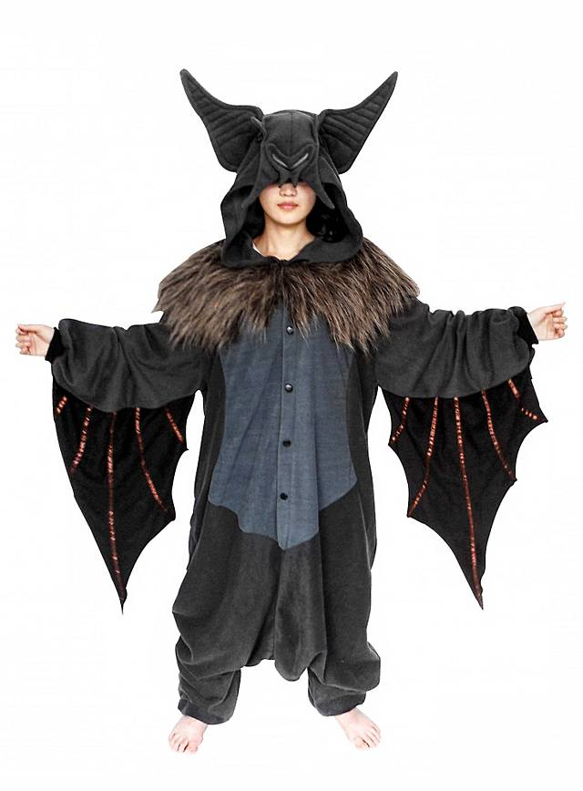 cozysuit fledermaus kigurumi kost m fledermauskost m onesie. Black Bedroom Furniture Sets. Home Design Ideas