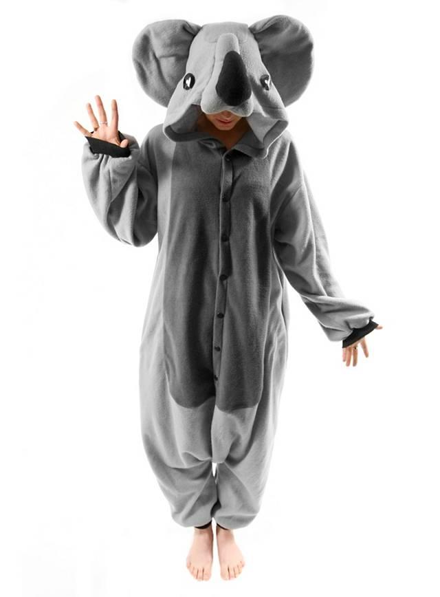 CozySuit Koala Kigurumi Kostm Koalakostm Onesie