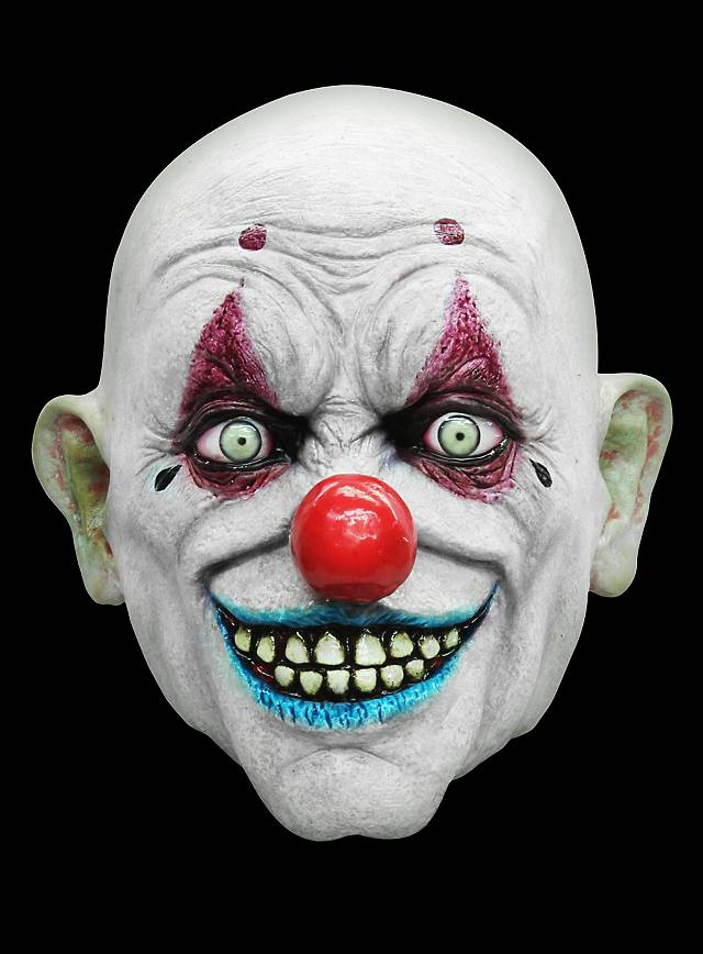 crafty the clown latex full mask. Black Bedroom Furniture Sets. Home Design Ideas